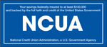 Savings are federally insured up to $250,000 by NCUA
